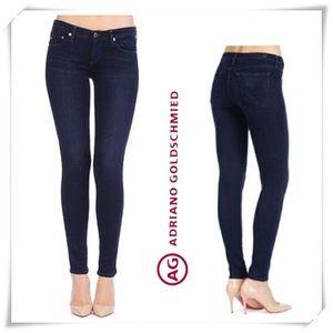 AG dark skinny jean